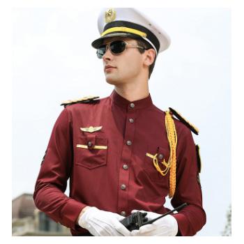 保安工作服套装男短袖夏装物业房产酒店大气形象岗礼宾服保安制服
