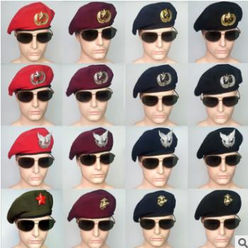贝雷帽男夏季网眼保安帽韩版英伦青年潮人水兵舞帽子船帽女蓓蕾帽