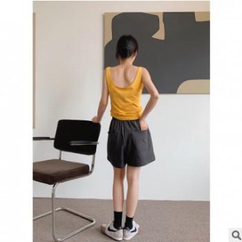 cleanspace2020夏季新款韩版休闲小背心女性感纯色修身小吊带8532