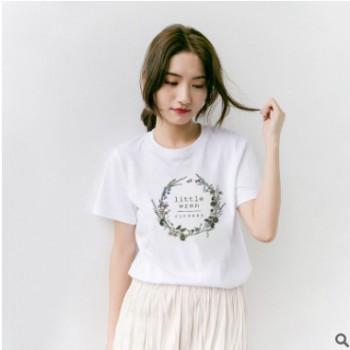 厂家直销2020春夏新款上衣卡通女学生女式T恤半袖量大优惠3