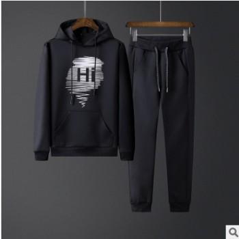 外衣男2019春秋季韩版新款男式运动套装卫衣休闲套装长袖学生套装