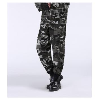 厂家批发户外军迷服 运动户外套装 登山野营迷彩服绿 迷彩服男660