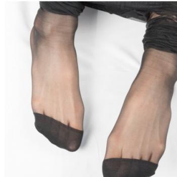 丹吉娅丝袜女薄款连裤袜脚尖加固比基尼裆2d低腰超薄浅灰色SL0785