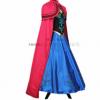 万圣节现货冰雪奇缘安娜礼服裙cosplay成人儿童动漫服装套