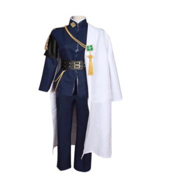 刀剑乱舞 青江 军装 武士服 制服cosplay