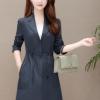 风衣外套女2020秋季新款韩版修身显瘦拼接中长款大码气质上衣潮