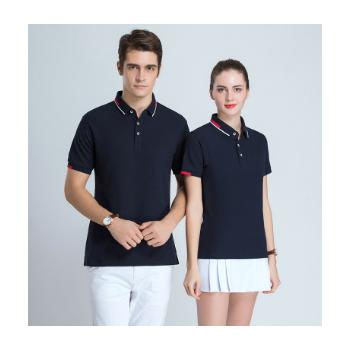 夏季POLO衫定制T恤短袖工作服短袖定做工衣广告文化衫diy印logo字