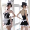 柠檬物语外贸情趣内衣新款制服兔女郎用品女仆制服袜套装一件代发