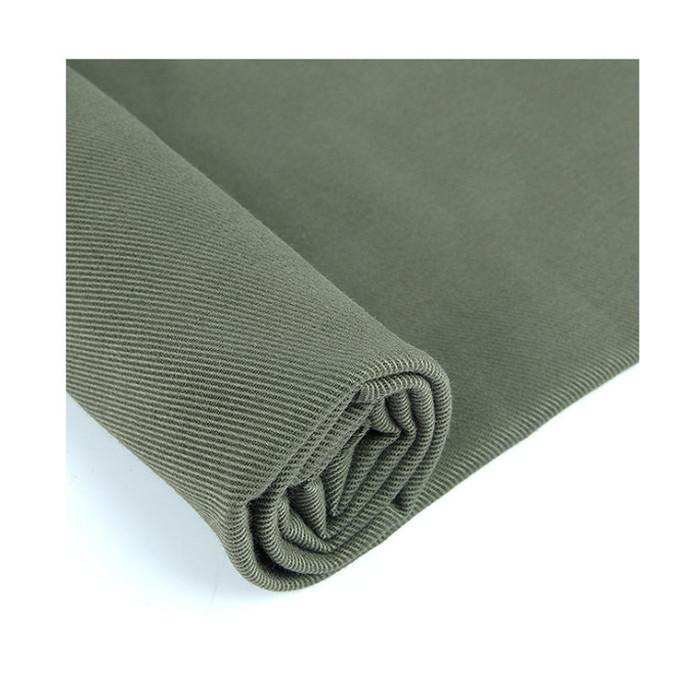 10支赛络纺斜纹棉布 水洗棉面料 秋冬加厚上衣外套布料工作服面料