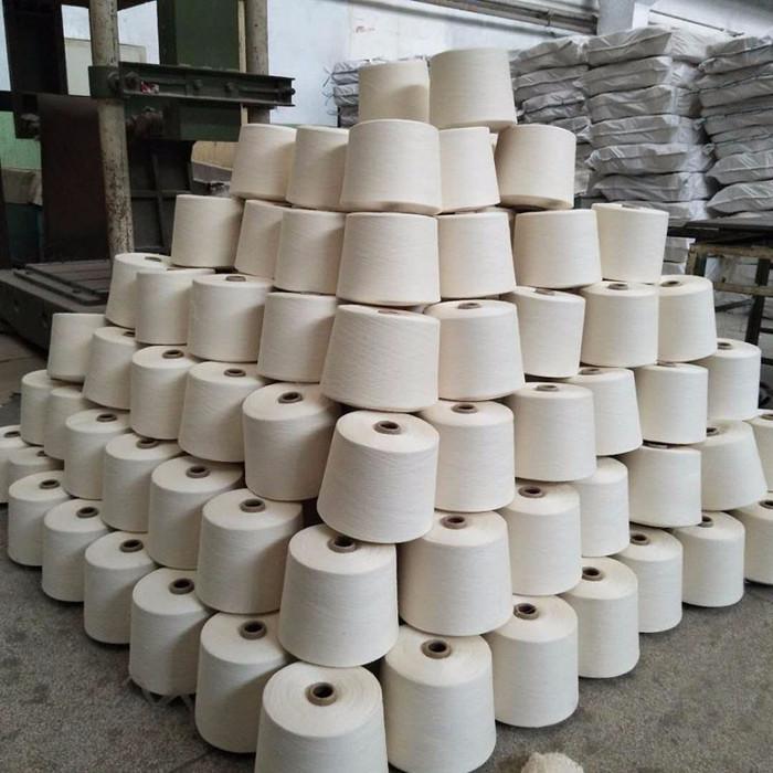 纱厂供应棉麻20支纱线赛络纺