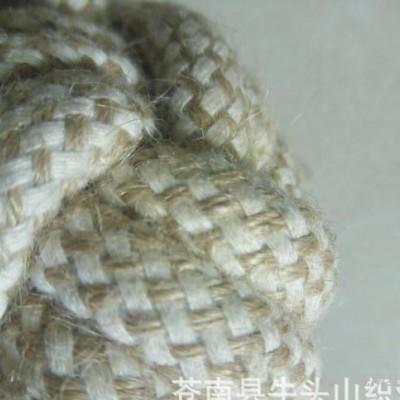 直销棉麻宠物溜溜球咬绳 包芯辅料编织绳 可定做工艺规格