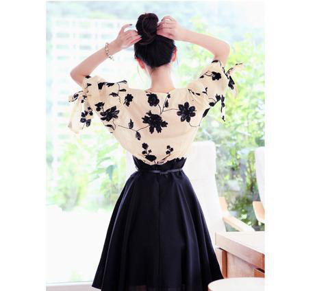广州微信女装刺绣连衣裙棉麻显瘦修身两件套韩版女装裙子套装