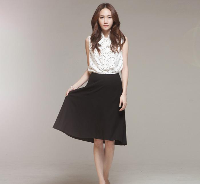 2015夏装新款韩版中长款棉麻衬衫两件套连衣裙女半身裙大摆长