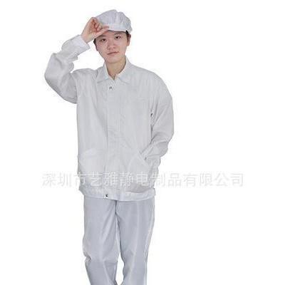 防尘分体服带帽 防静电工作服防静电无尘服 耐高温无尘工作服