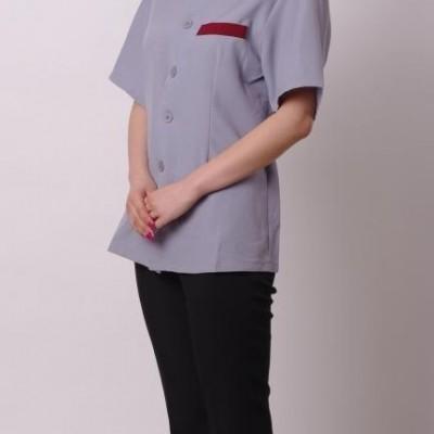 供应上海工作服,制服,厂服,保洁服,餐饮服 HBJF-006