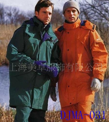 定做上海松江防寒服冬季工作服厂服冬季棉袄茄克衫DJMA-03