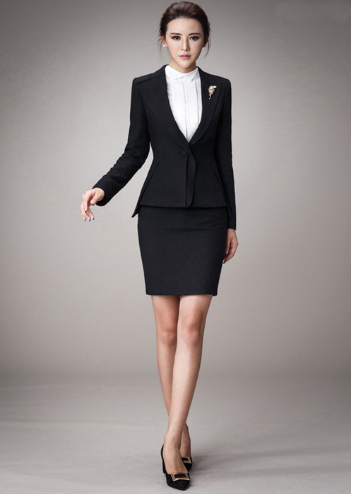 艾迪丹顿职业装 工作服 女西服 OL通勤女装 文员装