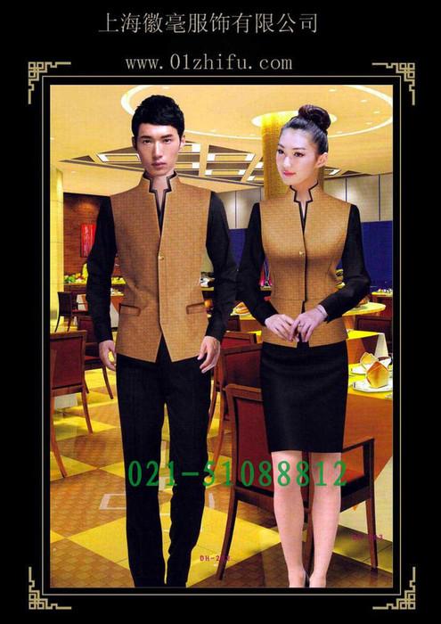 供应酒店职业装工作服,餐厅服务员服装,前台收银服装