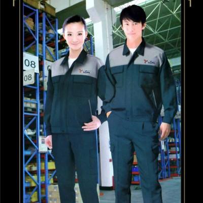 专业定做大中小上海企业工程制服 车间工作服定做厂家
