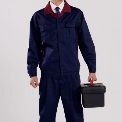 现货冬工作服套装 电焊工作服 长袖工厂工作服 工程工作服 可订制