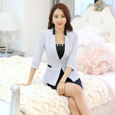 2016春季新品职业装女套装套裙中袖正装美容院酒店经理工作服
