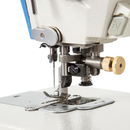 全新电脑带刀一体平缝机 电脑刀车全自动高速厚料 工业缝纫机