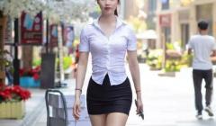 街头罕见的职业服装也点燃了大家的热情!