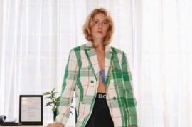 她是Zara服装设计师善于颜色搭配 来自时尚博主日常穿搭
