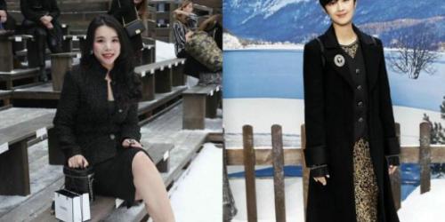 刘雯参加香奈儿时装秀,全黑装扮气场足,不愧是模特界的劳模