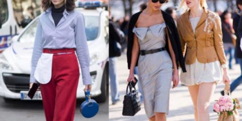 法国女人太浪漫了,简单的衣服穿在身上,就能风情万种