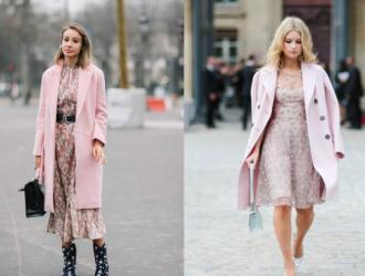 没有什么颜色比粉色更适合女性了,入手一件粉色的服装,十分甜美