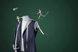 运动型服装搭配束缚带,帅气迷人,散发运动时尚范