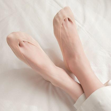 春夏季浅口蕾丝花边女船袜硅胶防滑冰丝船袜防掉隐形袜短袜子女士