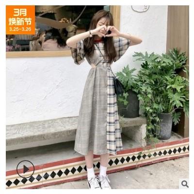 裙子女学生法式可甜可盐连衣裙长裙脚踝仙气森系仙女桔梗裙超仙裙