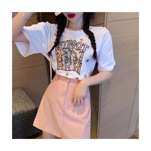 2021新款小清新两件套装粉色约会小裙子法式初恋桔梗甜美连衣裙子