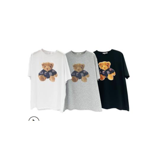 FINOA女装t恤女短袖宽松2020春装新款韩版网红ins潮中长款体恤上